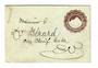 EGYPT 1874 Postal Stationery. Addressed but not postmarked. - 32054 - PostalHist