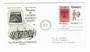 CANADA 1973 Algonkian Indians. Joined pair on first day cover. - 32090 - FDC