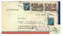 CANADA 1952 Airmail Letter to Germany. Redirected. - 32099 - PostalHist