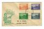 NORFOLK ISLAND 1947 Definitives. Set of 12 issued 10/6/1947 on (3)first day cover(s). - 32108 - FDC