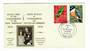 Nouvelles Hebrides 1974 Royal Visit. Set of 2 on first day cover. - 32114 - FDC