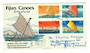 FIJI 1977 Canoes. Set of 4 on registered first day cover. - 32115 - FDC