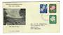 NORFOLK ISLAND 1960 Definitives issued on 23/5/1960. Set of 3 on first day cover. - 32126 - FDC