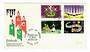 FIJI 1978 Festivals. Set of 4 on first day cover. - 32131 - FDC