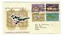 NOUVELLES HEBRIDES 1963 Definitives. Four valurs on first day cover. The recipient or his son was an All Black. - 32137 - FDC