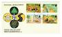FUJI 1972 National Development. Set of 4 on first day cover. - 32147 - FDC