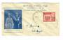 FIJI 1953 Royal Visit on illustrated first day cover. - 32148 - FDC