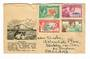 PITCAIRN ISLANDS 1951 Letter to England on souvenir cover. - 32152 - PostalHist