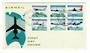 PAPUA NEW GUINEA 1970 Air Services. Set of 6 on first day cover. - 32157 - FDC