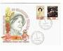 PITCAIRN ISLANDS 1990 90th Birthday of Queen Elizabeth the Queen Mother. Set of 2 on first day cover. - 32160 - FDC