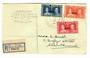 NIUE 1937 Coronation. Set of 3 on first day cover. A diifferent 'illustration'. - 32184 - FDC