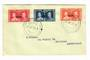 NIUE 1937 Coronation. Set of 3 on first day cover. - 32194 - FDC
