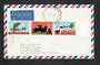 AUSTRALIA 1969 150th Anniversary of the First England to Australia Flight. Strip of 3 on first day cover. - 32205 - FDC