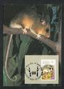 AUSTRALIA 1990 Animals of the High Country. Set of 4 on maxim cards. - 32213 - VFU