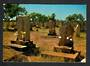 AUSTRALIA Modern Postcard of the Graves of Japanses Pearl Divers at Broome. - 32228 - Postcard
