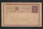 SOUTH AUSTRALIA Early Postal Stationery Postcard Victoria 1st 1d Purple - 32237 - PostalStaty