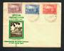 AUSTRALIA 1937 Sesqui-Centenary of New South Wales. Set of 3 on first day cover. - 32242 - FDC