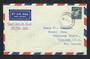 AUSTRALIA 1961 Definitive 11d Blue on first day cover to New Zealand. - 32249 - PostalHist