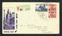 AUSTRALIA 1950 ANPEX Philatelic Exhibition. Registered. - 32271 - PostalHist