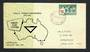 AUSTRALIA 1955 YMCA on first day cover. - 32275 - FDC