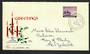 AUSTRALIA 1959 Christmas on first day cover. - 32280 - FDC