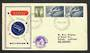 AUSTRALIA 1958 1953 Qantas Inaugural Round the World Flight. - 32281 - PostalHist