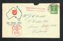 AUSTRALIA 1941 Cover Salvation Army Red Shield Huts posted from Bathurst. Cachet