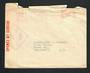 AUSTRALIA 1942 Cover to New Zealand. Passed by Censor 1308. Postage by meter mark. Damage at the top. - 32304 - PostalHist