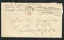 USA 1943 Letter from Serviceman. Freepost.