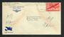 USA 1942 Airmail Letter from Serviceman at U S Naval Air Station Florida.