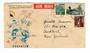 JAPAN 1958 Airmail Letter to New Zealand. - 32448 - PostalHist