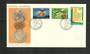 GREECE 1968 Olympics. Set of 3 on first day cover. - 34211 - FDC