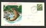 NEW ZEALAND 1967 Definitive 7½c Brown Trout on illustrated first day cover. - 34765 - FDC