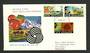 NEW ZEALAND 1969 Definitives 8c 18c 20c on illustrated first day cover. - 35064 - Postmark