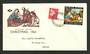 NEW ZEALAND 1963 Christmas on illustrated first day cover. - 35091 - FDC