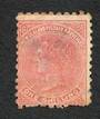 NEW ZEALAND 1882 Victoria 1st Second Sideface 1/- Chestnut. No gum. Thin. Good from the front. - 3542 - MNG