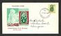 NEW ZEALAND 1967 Definitive 15c Green Tiki on two different illustrated first day covers. - 35815 - FDC