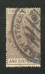 NEW ZEALAND 1913 Victoria 1st Long Type 2/6d. Perf 14½x14. Parcel cancel. - 3715 - Used