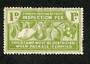 NEW ZEALAND Fruit Inspection Fee 1d Green. - 3739 - Mint
