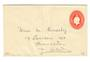 AUSTRALIA Geo 5th Postal Stationery 2d Red. - 37456 - PostalStaty