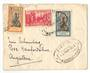 FRENCH INDIAN SETTLEMENTS 1938 Letter from Pondicherry to England. - 37530 - PostalHist
