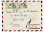 FRENCH OCEANIC SETTLEMENTS 1950 Letter from Papeete to France. - 37545 - PostalHist