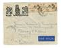 FRENCH OCEANIC SETTLEMENTS 1955 Letter from Iles Marquises to France. - 37546 - PostalHist