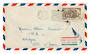 FRENCH WEST AFRICA 1953 Airmail Letter from Dakar Senegal to Abijan Ivory Coast. First Flight Abijan to Paris. - 37566 - PostalH