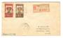 GABON 1931 Registered Letter from Libreville to USA. - 37578 - PostalHist
