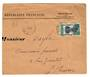 GABON 1937 Registered Letter from Libreville to France. - 37580 - PostalHist