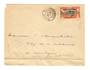 GABON 1936 Letter from Port-Gentil to Libreville. Folded at bottom. - 37581 - PostalHist