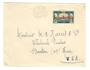 GABON 1920 Letter from Libraville to USA. - 37595 - PostalHist