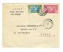 IVORY COAST 1934 Airmail (Dakar to Toulouse via Bamako). Letter from Abidjan to Paris.Dakar backstamp. - 37625 - PostalHist