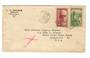 IVORY COAST 1939 Letter from Abidjan to USA. - 37626 - PostalHist